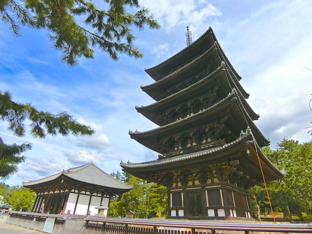 興福寺(2018年奈良の旅)