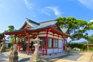 市来(いちき)神社(鹿児島県いちき串木野市)