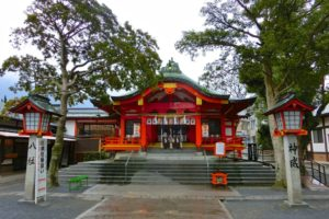 仲宿(なかやど)八幡宮(北九州市八幡東区)